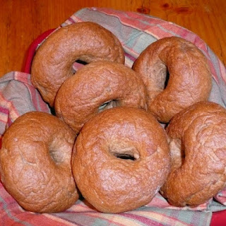 Whole Wheat Bagels.