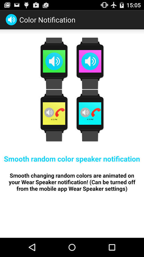 Wear Speaker - screenshot