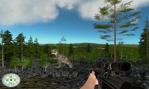 Dino sniper shooting 3D