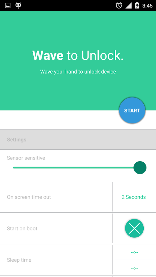 how to use mobile proximity sensor to develop mobile apps