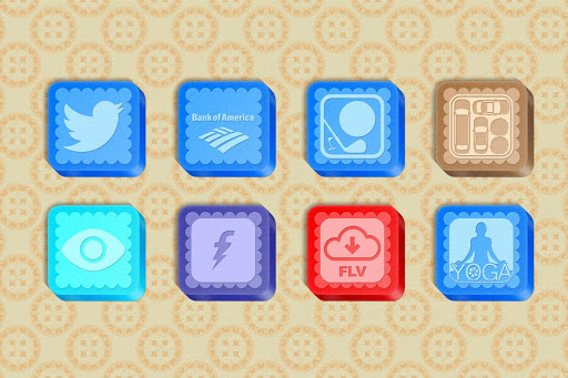Paper Box 1200 Icon Pack Theme