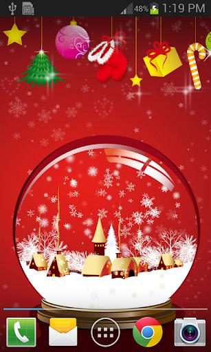 聖誕音樂水晶盒動態桌布 FREE PRO