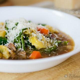 Easy Weeknight Tortellini Soup