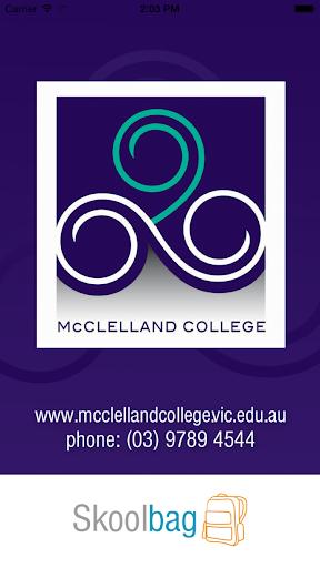 McClelland College - Skoolbag