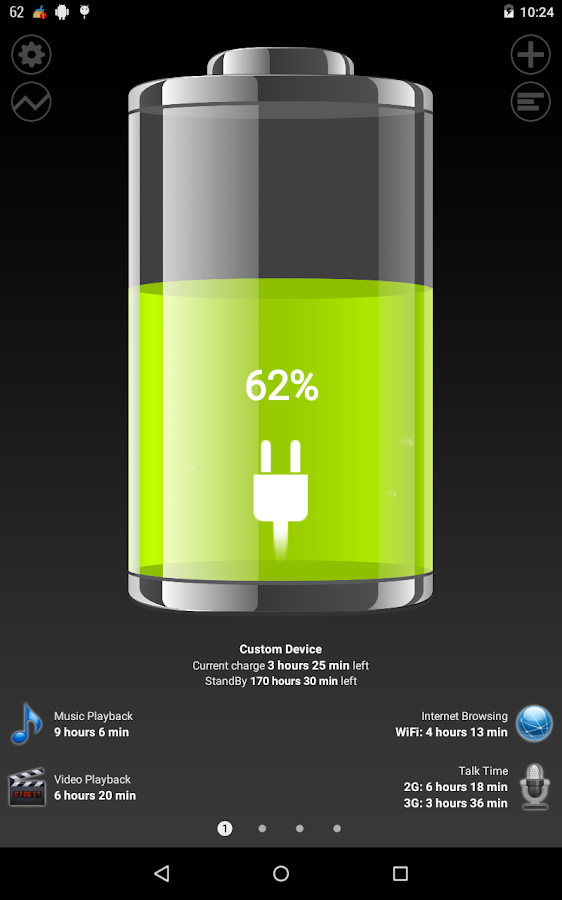 Battery HD Pro - screenshot