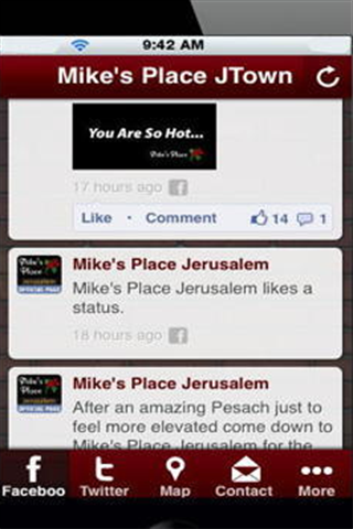 玩商業App|Mike's Place Jerusalem免費|APP試玩