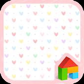Heart dodol launcher theme