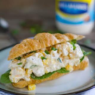 Mango Chicken Salad Sandwich.