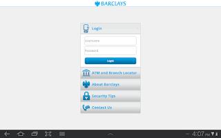 Screenshot of Barclays Ghana