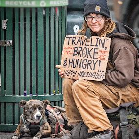 Travelin' by Lou Plummer - People Street & Candids (  )