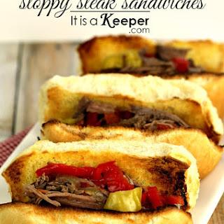 Slow Cooker Sloppy Steak
