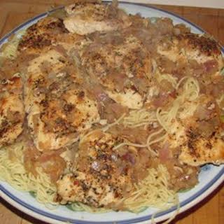 Herb and Chicken Pasta.