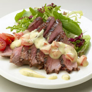 Tomato Bearnaise London Broil