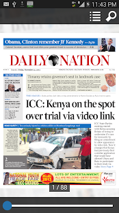 Safaricom Daily Nation Reader- screenshot thumbnail