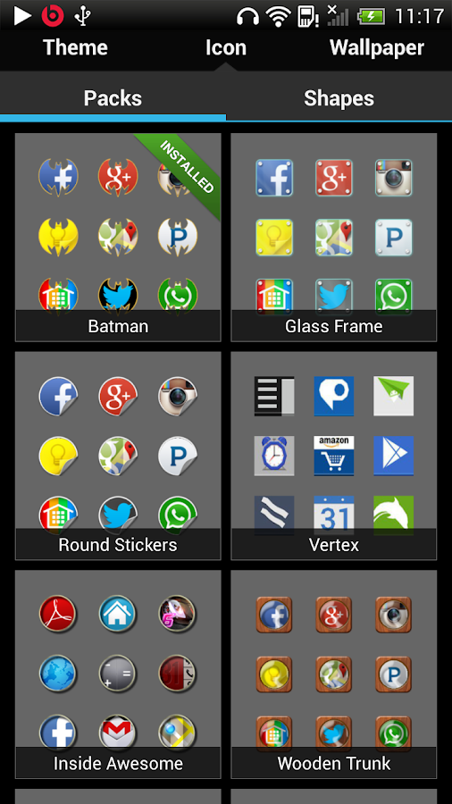 Nine Launcher - screenshot