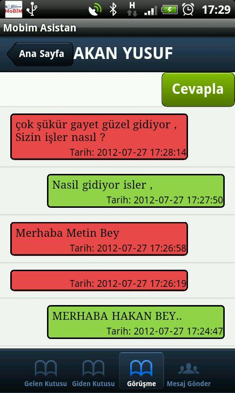 Asistan Mobile Service- screenshot
