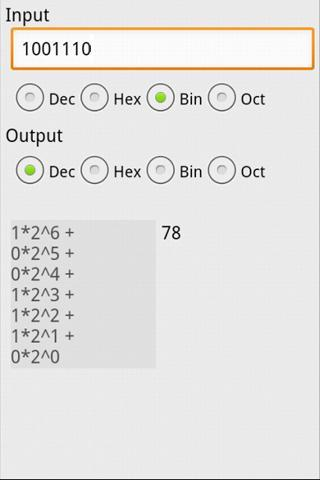 μCalc Scientific Calculator- screenshot