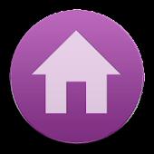 VM9 Purple Glass Icons