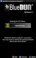Screenshot of BlueDUN / BlueDUN+ Trial