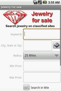 Jewelry Finder - screenshot thumbnail