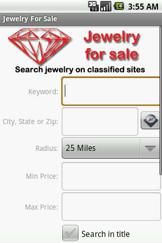 Jewelry Finder - screenshot