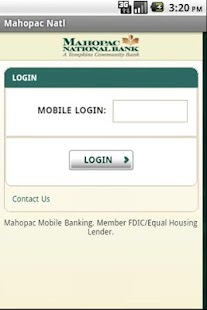 Mahopac National Bank Mobile - screenshot thumbnail