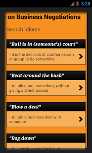 Idioms & Phrases with Meaning!- screenshot thumbnail