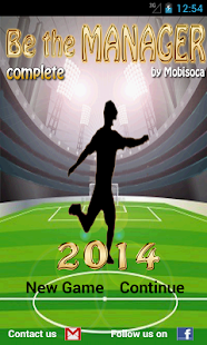 Be the Manager 2014 (Football)- screenshot thumbnail