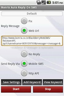 Bonrix Longcode AutoReply SMS- screenshot thumbnail
