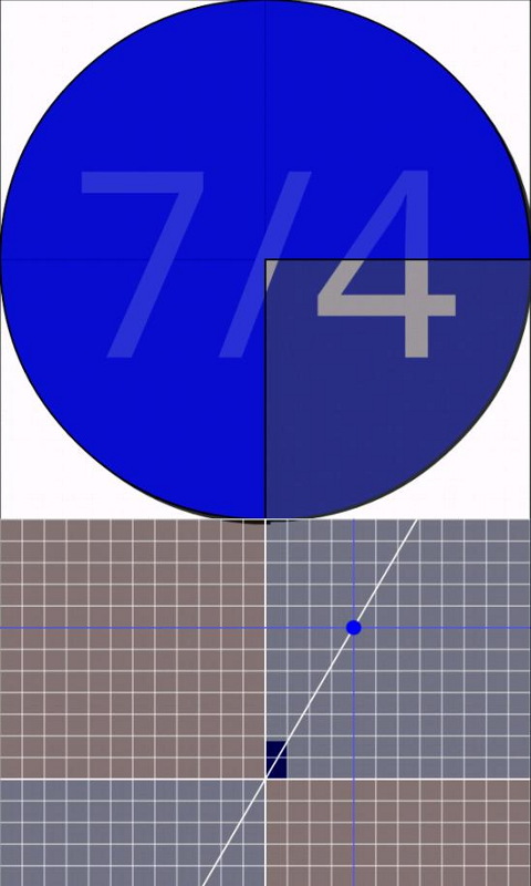 Touch Fraction- screenshot