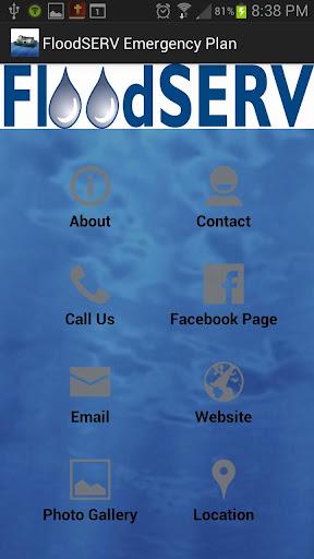 FloodSERV Emergency Plan