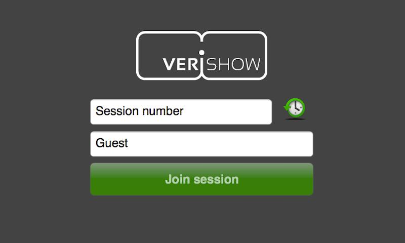 VeriShow Live Chat & Video - screenshot