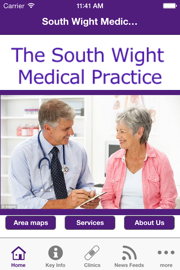 South Wight Medical Practice- screenshot