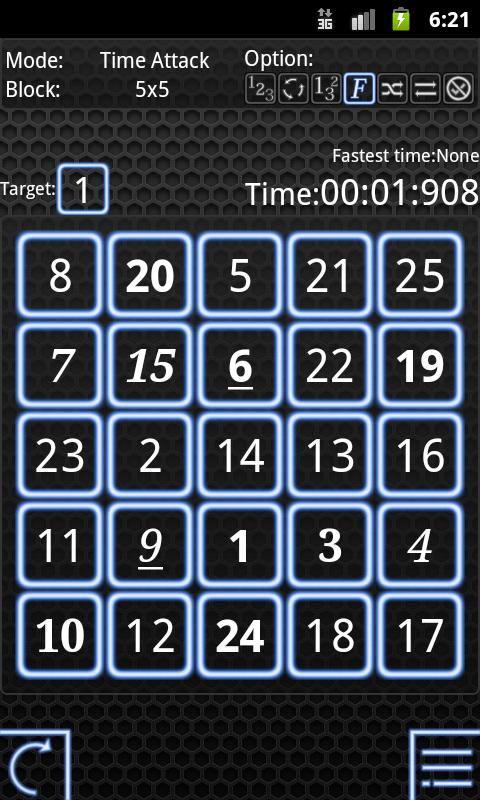 Numbers Attack Plus!- screenshot