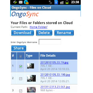 OngoSync- screenshot thumbnail
