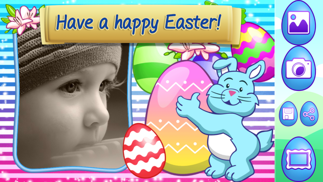my easter photo frames screenshot