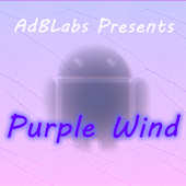 Purple Wind Go Launcher EX