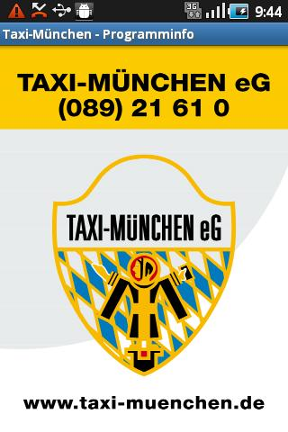 taxi m nchen android apps on google play. Black Bedroom Furniture Sets. Home Design Ideas