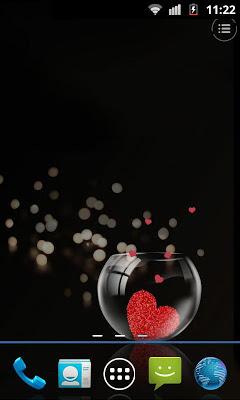 Forever Love live wallpaper - screenshot