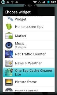 1 Tap Cache Cleaner Lite - screenshot thumbnail