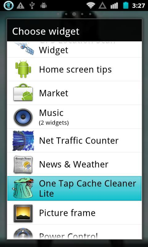 1 Tap Cache Cleaner Lite - screenshot