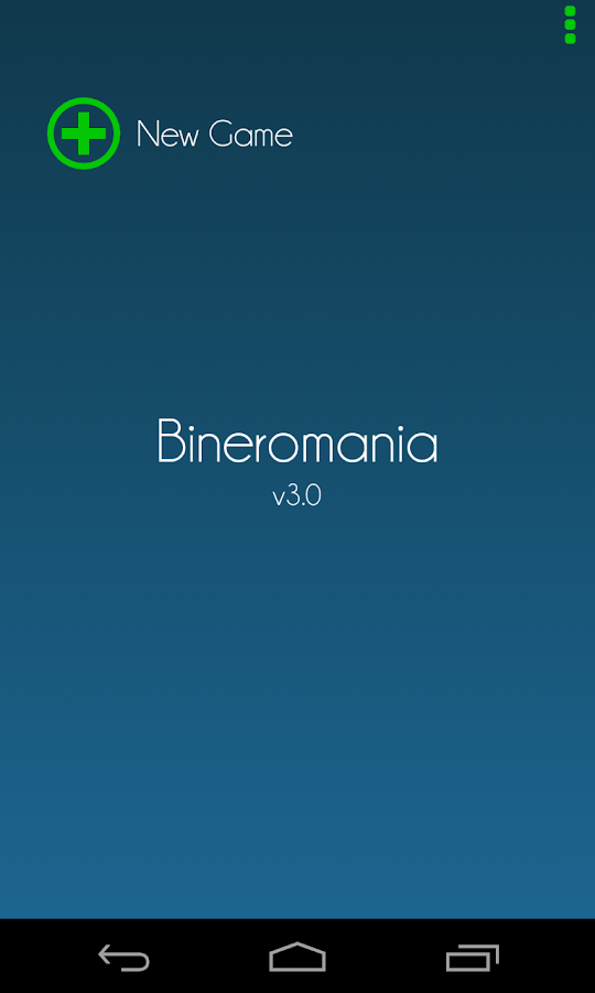 Bineromania- screenshot