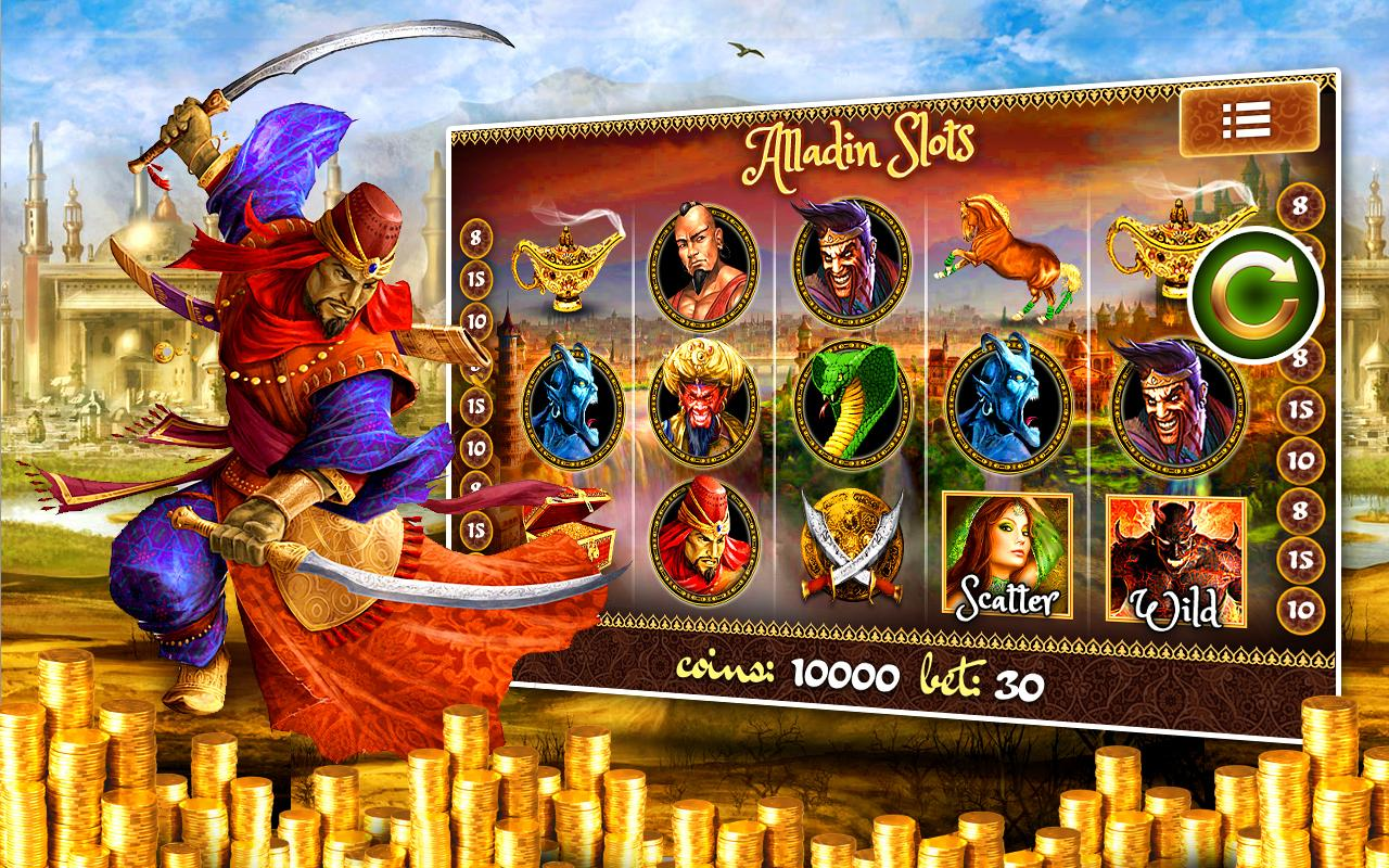 Aladdin Way Slot Machine Pokie - Android Apps on Google Play title=
