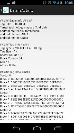 【免費工具App】Mifare Doctor [NFC] (Free)-APP點子