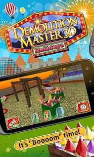 Demolition Master 3D: Holidays Screenshot 1