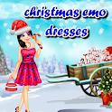 Christmas emo dressup icon