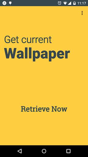 Get Current Wallpaper