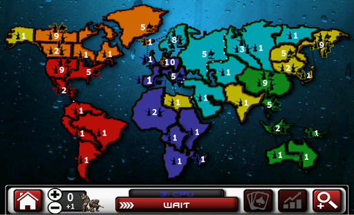 Rise Wars Risk game