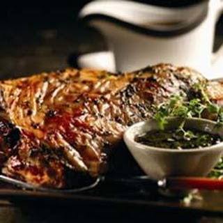 Minted Thyme Roasted Lamb