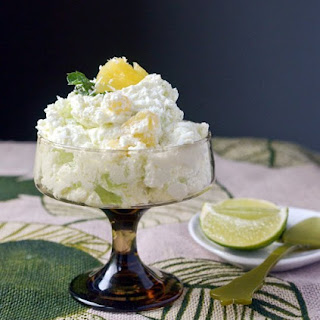 Fresh Lime & Pineapple Fluff.